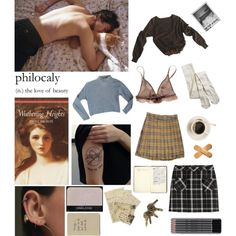 A strange fear gripped me by always-soulful on Polyvore featuring American Eagle Outfitters, Myla, NARS Cosmetics and BRONTE