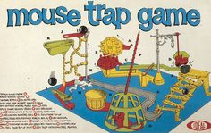 Mouse Trap Game - took 4 hours to build and 10 minutes to play!