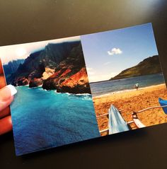 How to use the mobile app PicFrame to design 2 3x4 photos on one 4x6 print