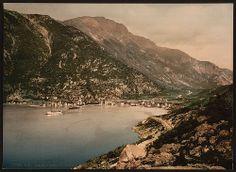 [General view from fjord, Odde (i.e. Odda), Hardanger Fjord, Norway] (LOC)