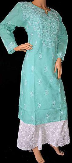 World's Most Loved Online Chikankari Store ! Ethenic Wear, Kurta Designs Women, Georgette Sarees, Hand Embroidery Designs, Cotton Saree, Pakistani Dresses, Salwar Suits, Kurtis, Indian Wear