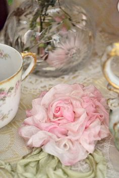 ribbon flower  ~ Repinned by Federal Financial Group LLC #FederalFinancialGroupLLC #FFG http://ffg2.com