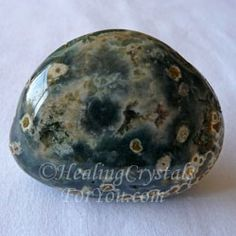 Ocean Orbicular Jasper - this is a stone that brings joy and elevated spirits, relieves stress, worry and other negative feelings.