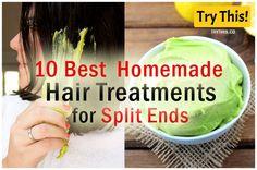 10 Best Homemade Treatment for Split Ends