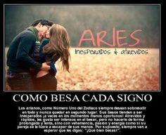 Como besan los  Aries ¿Como son sus besos?