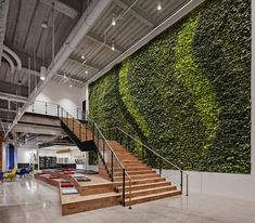 Sonos Offices – Boston. Living wall