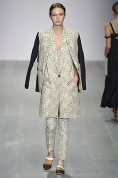 London Fashion Week Day 1 Eudon Choi Spring/Summer 2015 Ready to wear  12 September 2014
