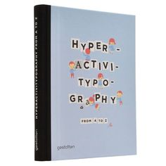 Hyperactivitypography, $25, now featured on Fab.