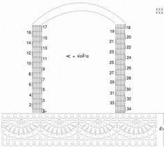 Вязание крючком - ажурное платье