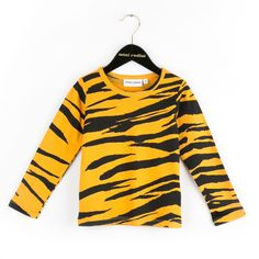 Tiger Stripes Long Sleeve Tee