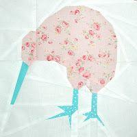 paper pieced kiwi pattern