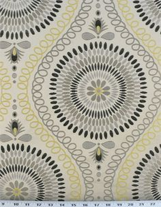 Mosaic Lemon Tonic   Online Discount Drapery Fabrics and Upholstery Fabric Superstore!