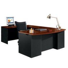 VIA Bow Front U-Shaped Desk - 15431 and more Office Desks