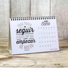 Calendario sobremesa - En 2014 vas a conseguir todo lo que te propongas. Lo encontrarás en http://www.mrwonderfulshop.es/es/ #calendario #2014