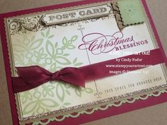 Stampin' Up!® Swap cards from Founder's Retreat - Stamp Your Art Out!