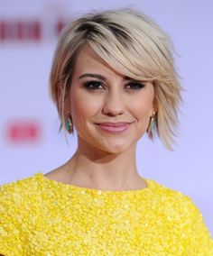 Chelsea short bob...love this but want same length on both sides.
