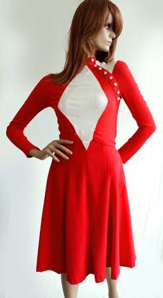 Dress, Ossie Clark for Radley, c.1970.