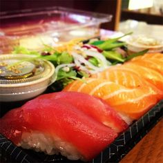 Grabbing some sushi @ You Me Sushi, Westfield! #sushi #japan #food