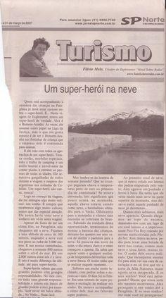 Acampando na Patagonia com Crianças – parte 3 – O Super Herói – Publicado em 01 de março de 2007