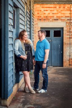 Great ideas/poses for a plus-size couple photo shoot--these were not engagement, but very cute anyway.