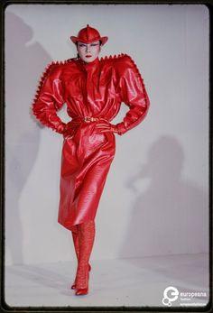 Fashion show Kansai Yamamoto winter 1979/1980