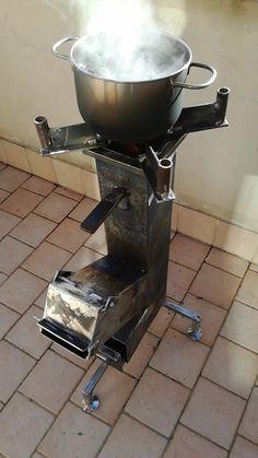 Orrù Antonio Rocket stove