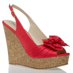 Cork platforms. Perfect for July 4th!