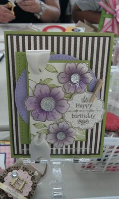 Easy to recreate this card Set from Journey Blooms (Fun Stampers Journey) I can order it for you or if you order it direct, I would appreciate it if you list me as the referring coach. Thanks