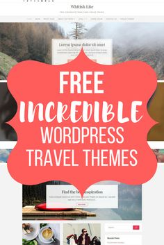 How Do You Find, Travel Themes, Free Travel, Losing You, Lorem Ipsum, Wordpress Theme, Traveling By Yourself, Jazz, The Incredibles