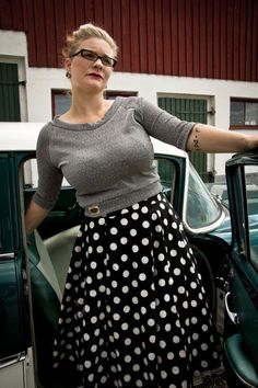 Vintage plus size rockabilly fashion style outfits ideas 94