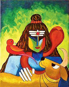 shiva paintings - Google Search