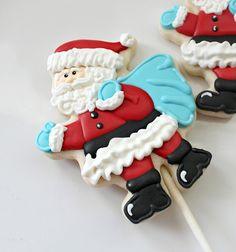 Sweet Sugar Belle. Santa stick