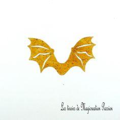 ailes transparentes caramel pailletées dragon ou chauve-souris 5 cm Transparent, Leaf Tattoos, Caramel, Halloween, Polyester, Photos, Scrapbooking, I Want You, Shape