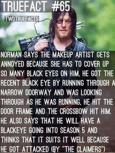 Norman Reedus on Daryl Dixon