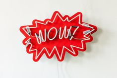 Wow! Pop Art Sign by sygns
