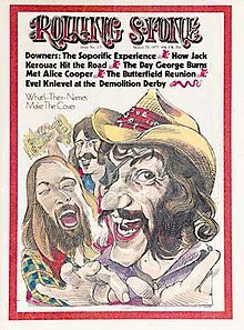 On this Day, March Dr. Hook and the Medicine Show make the cover of Rolling Stone magazine. Their song lamenting their inability to get on the Cover of the Rolling Stone was released just months earlier. But did he buy five copies for his mother? Paul Butterfield, Dr Hook, When Youre In Love, Demolition Derby, George Burns, Album Sales, Shel Silverstein, Alice Cooper, Rock Concert
