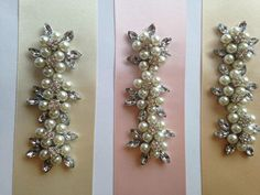 Bridal / Occasion Belt / Sash * All Colours * Flowers Pearl and crystal Jewel