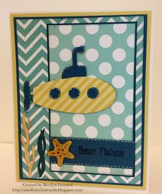 ~ Marilyn's Cricut Cards ~: Cards in Envy - Rev It Up!