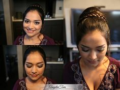 LOS ANGELES SOUTH ASIAN BRIDE INDIAN WEDDING MAKEUP ARTIST | KAUR BRIDAL PREVIEW | Angela Tam – Makeup and Hair Team