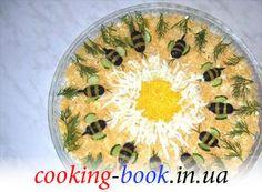 Рецепт: Салат с копченой курицой и ананасами
