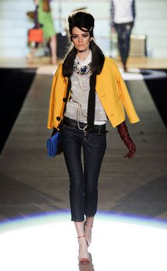I love Dsquared version of prepster with an edge.