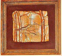 Donna Dobberfuhl Bas Relief Sculpture Interlocking Pottery Tiles RARE Early!