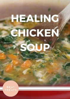 Healing Chicken Soup | Dinner Recipes | Allergies Friendly Recipe | Diary Free | Gluten Free | Refined Sugar Free | Soy Free