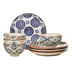 Pols Potten - Mosaic Plates - Set of 4
