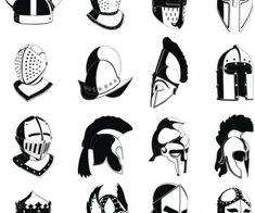 Resultado de imagem para capacete romano vetor