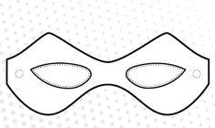Free Superhero Printable Masks