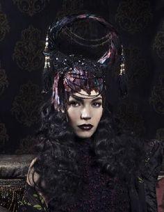 Dark Pictures, Dark Pics, Benjamin Von Wong, Match Making, Dark Beauty, Headpiece, Pure Products, Gothic, Hats