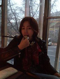 Jang Keun Suk ~~ macaron (March 2013)