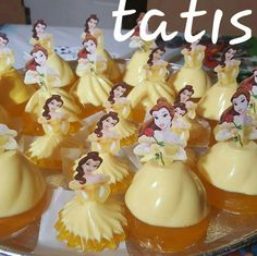 Bella Beauty And The Beast Party, Disney Beauty And The Beast, Disney Princess Birthday, Princess Party, Gelatina Jello, Jello Recipes, Recipies, Jelly Desserts, Belle Cake