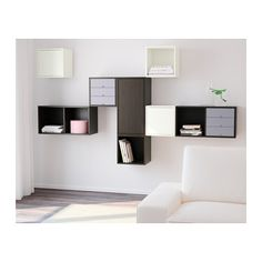 VALJE Wall cabinet with 3 doors - IKEA